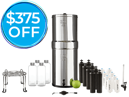 Berkey Water Filters sale holiday gift black friday sale 2019 home wellness
