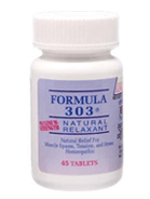 natural health resources supplements 303 formula